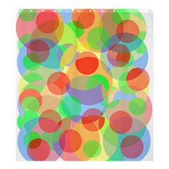 Colorful Circles Shower Curtain 66  X 72  (large)  by Valentinaart