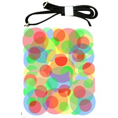 Colorful Circles Shoulder Sling Bags by Valentinaart