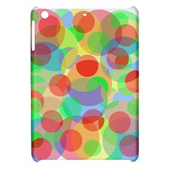 Colorful Circles Apple Ipad Mini Hardshell Case by Valentinaart