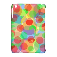 Colorful Circles Apple Ipad Mini Hardshell Case (compatible With Smart Cover) by Valentinaart