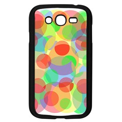 Colorful Circles Samsung Galaxy Grand Duos I9082 Case (black) by Valentinaart