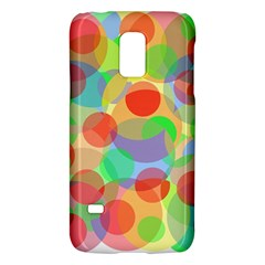 Colorful Circles Galaxy S5 Mini by Valentinaart