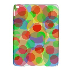 Colorful Circles Ipad Air 2 Hardshell Cases by Valentinaart