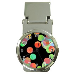 Colorful Circles Money Clip Watches by Valentinaart