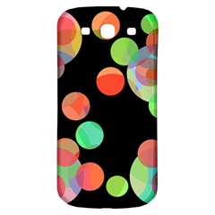 Colorful Circles Samsung Galaxy S3 S Iii Classic Hardshell Back Case by Valentinaart