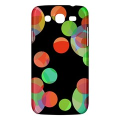 Colorful Circles Samsung Galaxy Mega 5 8 I9152 Hardshell Case  by Valentinaart