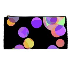 Colorful Decorative Circles Pencil Cases by Valentinaart