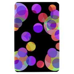 Colorful decorative circles Kindle Fire (1st Gen) Hardshell Case