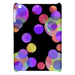 Colorful Decorative Circles Apple Ipad Mini Hardshell Case by Valentinaart