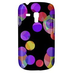 Colorful Decorative Circles Samsung Galaxy S3 Mini I8190 Hardshell Case by Valentinaart