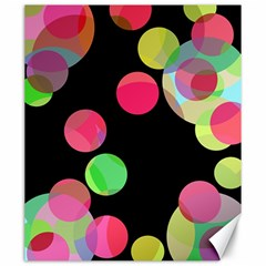Colorful Decorative Circles Canvas 20  X 24   by Valentinaart