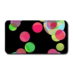 Colorful Decorative Circles Medium Bar Mats by Valentinaart