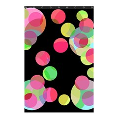 Colorful Decorative Circles Shower Curtain 48  X 72  (small)  by Valentinaart