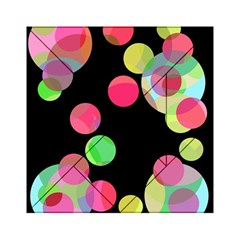 Colorful Decorative Circles Acrylic Tangram Puzzle (6  X 6 ) by Valentinaart