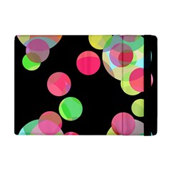 Colorful Decorative Circles Apple Ipad Mini Flip Case by Valentinaart