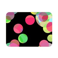 Colorful Decorative Circles Double Sided Flano Blanket (mini)  by Valentinaart