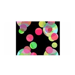 Colorful Decorative Circles Satin Wrap by Valentinaart