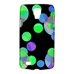 Green Decorative Circles Galaxy S4 Active by Valentinaart