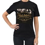 Woman s Band T-Shirt Women s T-Shirt (Black) (Two Sided)