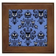 blue Framed Ceramic Tile by Mansion
