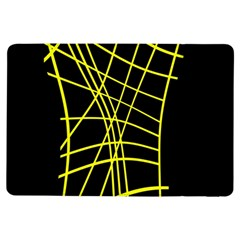 Yellow Abstraction Ipad Air Flip by Valentinaart