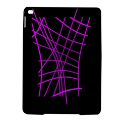 Neon Purple Abstraction Ipad Air 2 Hardshell Cases by Valentinaart