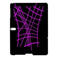 Neon Purple Abstraction Samsung Galaxy Tab S (10 5 ) Hardshell Case  by Valentinaart