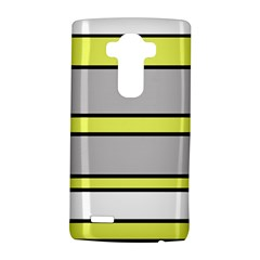 Yellow and gray lines LG G4 Hardshell Case by Valentinaart