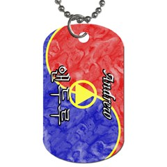 38-Andrew Dog Tag (Two-sided)  by BankStreet