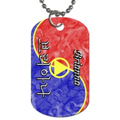 31-Brianna Dog Tag (Two-sided)  by BankStreet