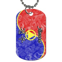 20-Jinwoo Dog Tag (Two-sided)  by BankStreet