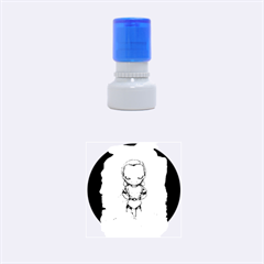 Scourge Of Carpathia Rubber Round Stamps (small) by lvbart
