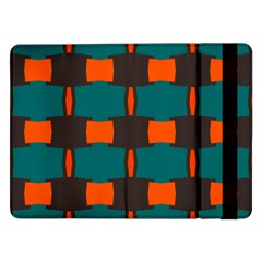 3 Colors Shapes Pattern                                                                                  			samsung Galaxy Tab Pro 12 2  Flip Case by LalyLauraFLM