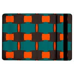 3 colors shapes pattern                                                                                  			Apple iPad Air Flip Case by LalyLauraFLM