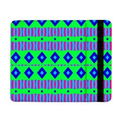 Rhombus And Stripes                                                                                   			samsung Galaxy Tab Pro 8 4  Flip Case by LalyLauraFLM