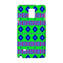 Rhombus And Stripes                                                                                   			samsung Galaxy Note 4 Hardshell Case by LalyLauraFLM