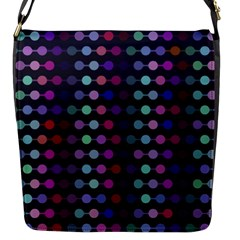 Connected Dots                                                                                     flap Closure Messenger Bag (s) by LalyLauraFLM