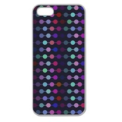 Connected Dots                                                                                     			apple Seamless Iphone 5 Case (clear) by LalyLauraFLM