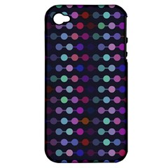 Connected Dots                                                                                     			apple Iphone 4/4s Hardshell Case (pc+silicone) by LalyLauraFLM