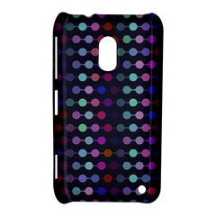 Connected dots                                                                                     			Nokia Lumia 620 Hardshell Case by LalyLauraFLM
