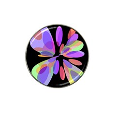 Colorful Abstract Flower Hat Clip Ball Marker (10 Pack) by Valentinaart