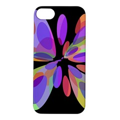 Colorful Abstract Flower Apple Iphone 5s/ Se Hardshell Case by Valentinaart