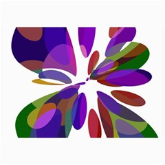 Colorful Abstract Flower Collage Prints