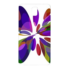Colorful Abstract Flower Samsung Galaxy Note 3 N9005 Hardshell Back Case by Valentinaart