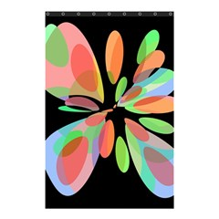 Colorful Abstract Flower Shower Curtain 48  X 72  (small)  by Valentinaart