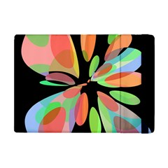 Colorful Abstract Flower Apple Ipad Mini Flip Case by Valentinaart