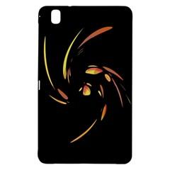 Orange Twist Samsung Galaxy Tab Pro 8 4 Hardshell Case by Valentinaart