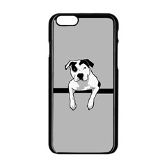 Pit Bull T  Bone Apple Iphone 6/6s Black Enamel Case by ButThePitBull