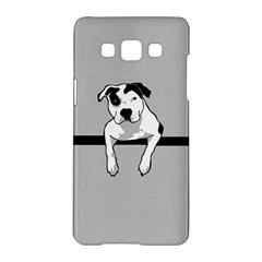 Pit Bull T  Bone Samsung Galaxy A5 Hardshell Case  by ButThePitBull