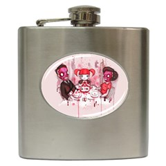 Give Us This Day Hip Flask (6 oz) by lvbart